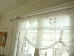 Vorhang Shabby 1101650 Chic Gardine 25 Oberteil Mit Acemeshme