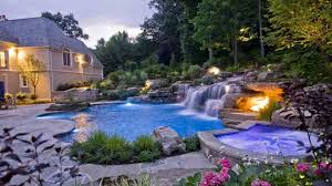 Swimming Pool:Nature Garden Pools And Swimming Ponds Design Idea Natural  Swimming Pool Design With