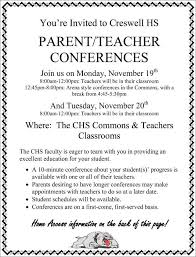 parent teacher conference letter to parents examples 10 conference invitation templates word illustrator