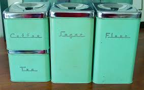 canisters interesting retro canister sets tin canister sets 1950s in vintage metal kitchen canisters