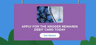 kroger rewards debit card ach card