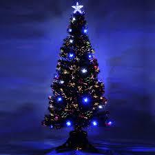 Fiber Optic Christmas Tree 7ft  Christmas2017Black Fiber Optic Christmas Tree