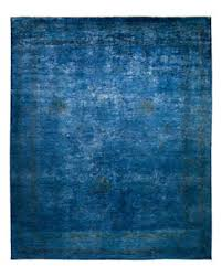 D Solo Rugs  Vibrance 20 Hand Knotted Area Rug