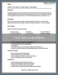 Two Types Of Resumes Sample Resume For A Student Lovetoknow