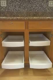 beautiful diy slide out pantry shelves kitchen cabinet sliding