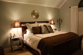 Bedroom : Beautiful Girl Bedroom Design Ideas Focusing Bamboo Shoot Wall  Color Option With Nice Round Ornament Over Teak Wooden Arched Head Board  Combine ...