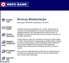 pay using hdfc bank netsafe and