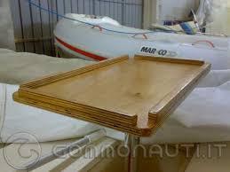 Tavolo In Teak Per Barche : Supporto tavolo costruirselo