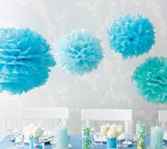 Tissue Balls Party Decorations How To Make Pom Pom Tissue Flowers Tissue flowers Tissue paper 3