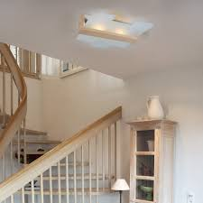 Innenraum Lampen Weiß Deckenlampe Leda E27 Deckenleuchte