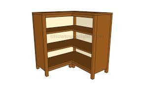 corner shelves furniture. Corner Bookcase Plans Shelves Furniture