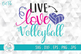 This can be used with the silhouette cutting machines, circuit, or other program/software also can be used as the vector editable and for online version. Live Love Volleyball For Volleyball Fan Graphic By Easyconceptsvg Creative Fabrica