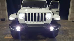 Jeep Jl Led Lights 2018 Jl Led Headlights Aftermarket Available 2018