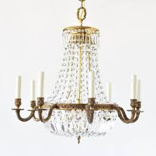 empire style crystal chandelier old vintage antique belgian french spanish spain france belgium
