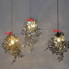 tord boontje lighting. Wonderful Boontje DIY Artecnica Garland Tangle Pendant Lamp Tord Boontje Design Lampen Gold  Abajur Light Fixtures Hanglamp E27 With Lighting N