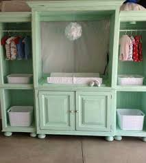 ideas for old furniture. Turn An Old Entertainment Center Into A Baby Station...awesome Upcycled Ideas! Ideas For Furniture O