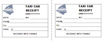 Call Taxi Bill Format Under Fontanacountryinn Com