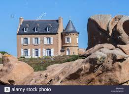 Villa / house built by <b>Gustave Eiffel</b> at Ploumanac'h along the Côte ...