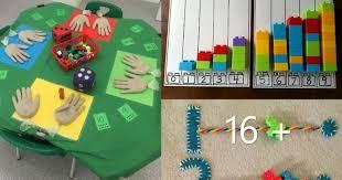 Juegos inventados con material reciclado. Mas 40 Juegos Matematicos Para Trabajar Los Numeros Y Otros Conceptos Logico Matematicos Imagenes Educativas