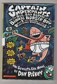 book review captain underpants and the big bad battle of the bionic booger boy part 2 the revenge of the ridiculous robot boogers