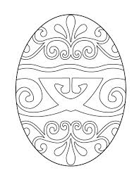 Free Printable Easter Eggs Coloring Pages For Printable Egg Coloring
