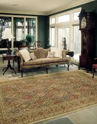 how to choose an area rug size