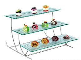 Lucite Stands For Display Rectangle Shape Acrylic Buffet Display Tier Lucite Buffet Rack 65