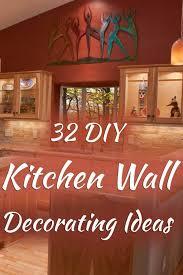 32 diy kitchen wall decorating ideas