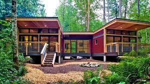 Modern Prefab Cabin 26 Prefabulous Cottages Modern Prefab Homes Design Ideas Youtube