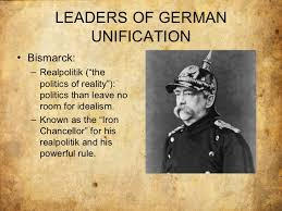 italian and german unification 26 leaders of german unification•