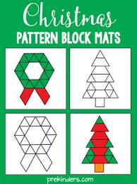 Pattern Block Template Enchanting Pattern Block Mats PreKinders