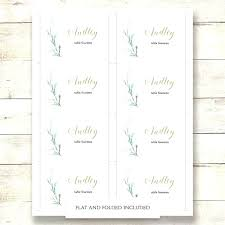 folding card template folded place cards template folding place cards template luxury