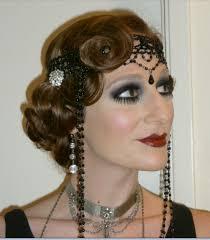 mega head gear roaring 20s makeup1920s