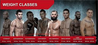 four diffe weight cles lee did range between 130 and 160 which would mean that as the image shows below he would fit into the bantamweight