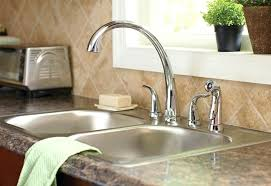 change kitchen sink tap how to install a kitchen sink faucet how to install a two