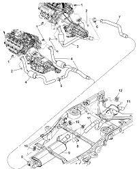 2004 dodge durango exhaust system