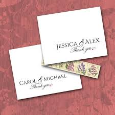 Thank You Cards Design Your Own Couple Monogram Thank You Cards Custom Names Personalized Etsy