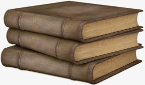 a stack of old books cartoon book books png image and clipart