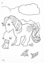 1980s my little pony coloring page google search
