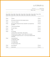 agenda of a meeting format examples of agendas for meetings format free meeting agenda template