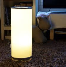 Ikea Vidja Floor Lamp Small White 48cm High 2 Bulbs Included In Kingswood Bristol Gumtree
