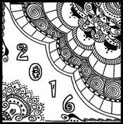 Small Picture Adult Coloring Pages New Year 2016