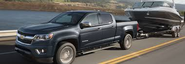 Used Chevy Colorado pickup trucks offer impressive towing capacity ...