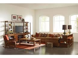 Living Room Brown Couch Beauteous Stickley Living Room Chicago Right Facing Sofa 484848R Stacy