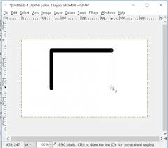 I am not sure about the dotted line`s but this is how you can get a lot of dot`s like new`s print.put the picture you want to work on in gimp. Gimp Draw A Straight Line Or An Arrow