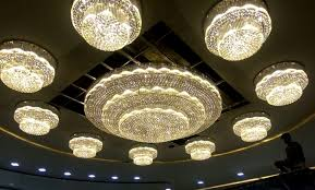 project big size crystal chandeliers