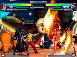 in addition to an awesome offensive system neogeo battle coliseum has an interesting defensive system awesome db mrbig glass top