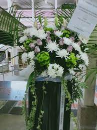 If you are looking for an affordable stand, check out our freestyle condolence stand at only $90 with delivery. Free Same Day Flower Wreath Delivery Sg G Flower Wreath Sg