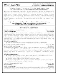 Project Engineer Resume Template Homeish Co