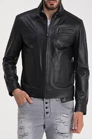 <b>Кожаная куртка IPARELDE</b> арт E62_BLACK BLACK ...